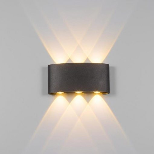 ĐÈN LED GẮN TƯỜNG LWA8031-BK KINGLED