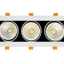 Đèn LED Âm Trần Rọi Topaz 10W (GL-3*10-V334) Kingled